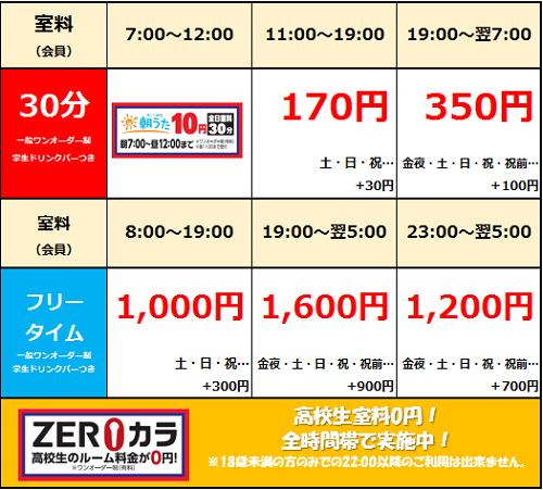 【渋谷ちとせ会館店】料金.png