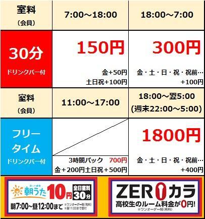 【四街道店】店舗料金20190901.jpg