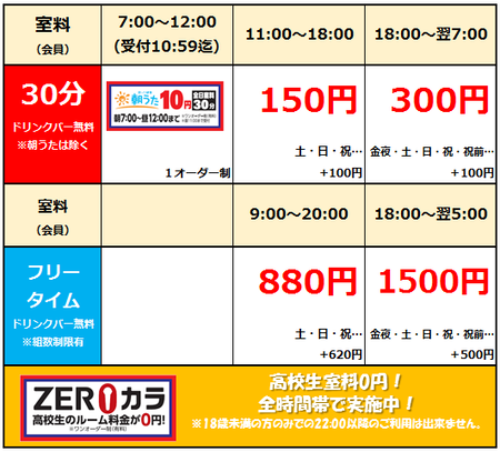【高崎緑町1号店】料金表2019.10.png